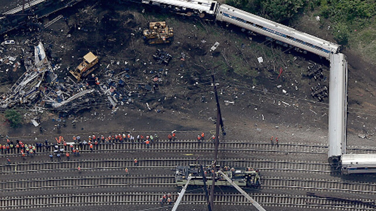 Train derailment caused by distracted engineer