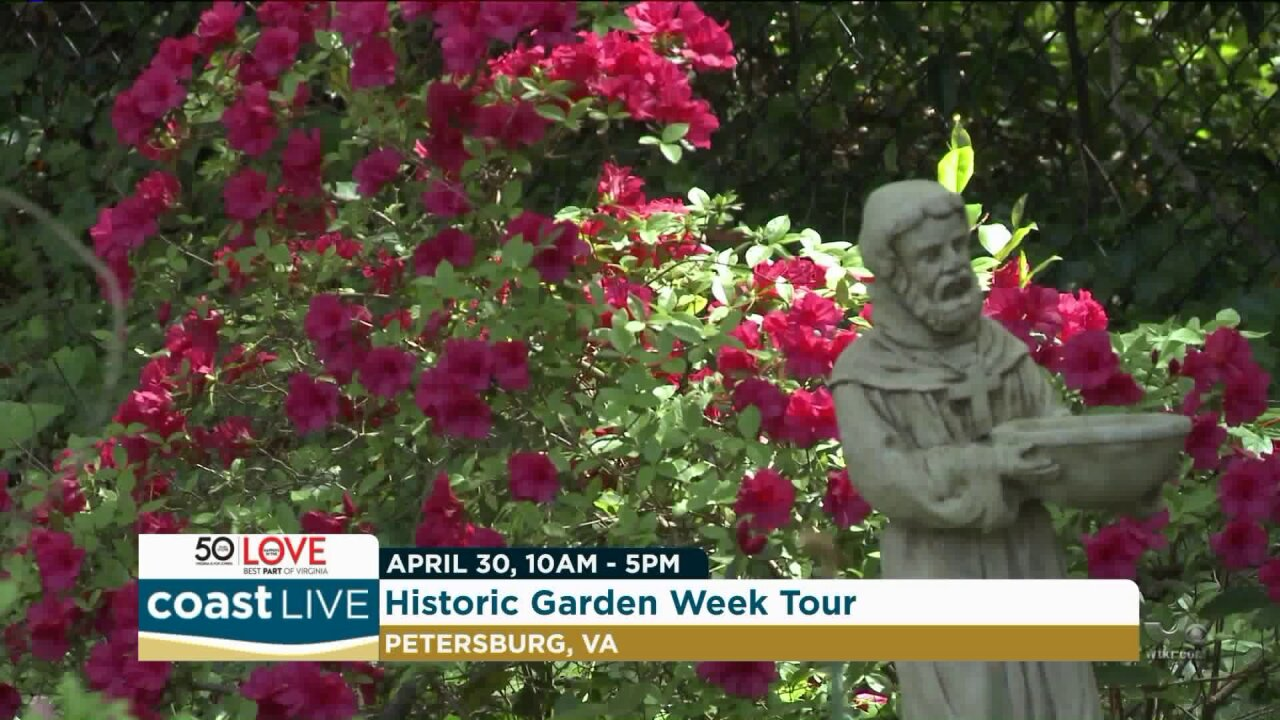 A preview of Petersburg's Historic Garden Week on Coast Live