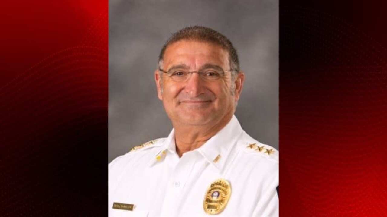 Youngsville Chief fractures back in motorcycle accident