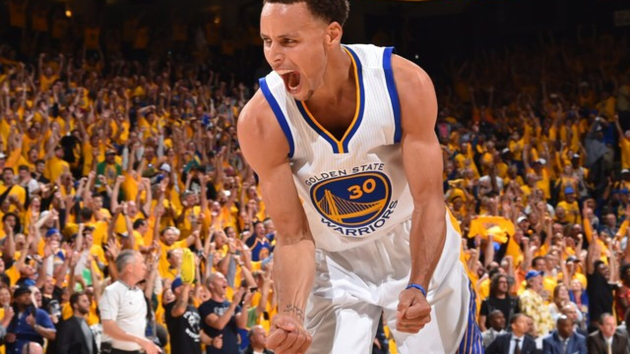 Curry and the Warriors made history- 73 wins