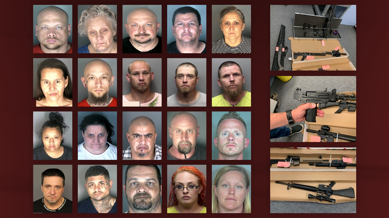 About 20 arrested in connection to large gun, drug sting in Longmont