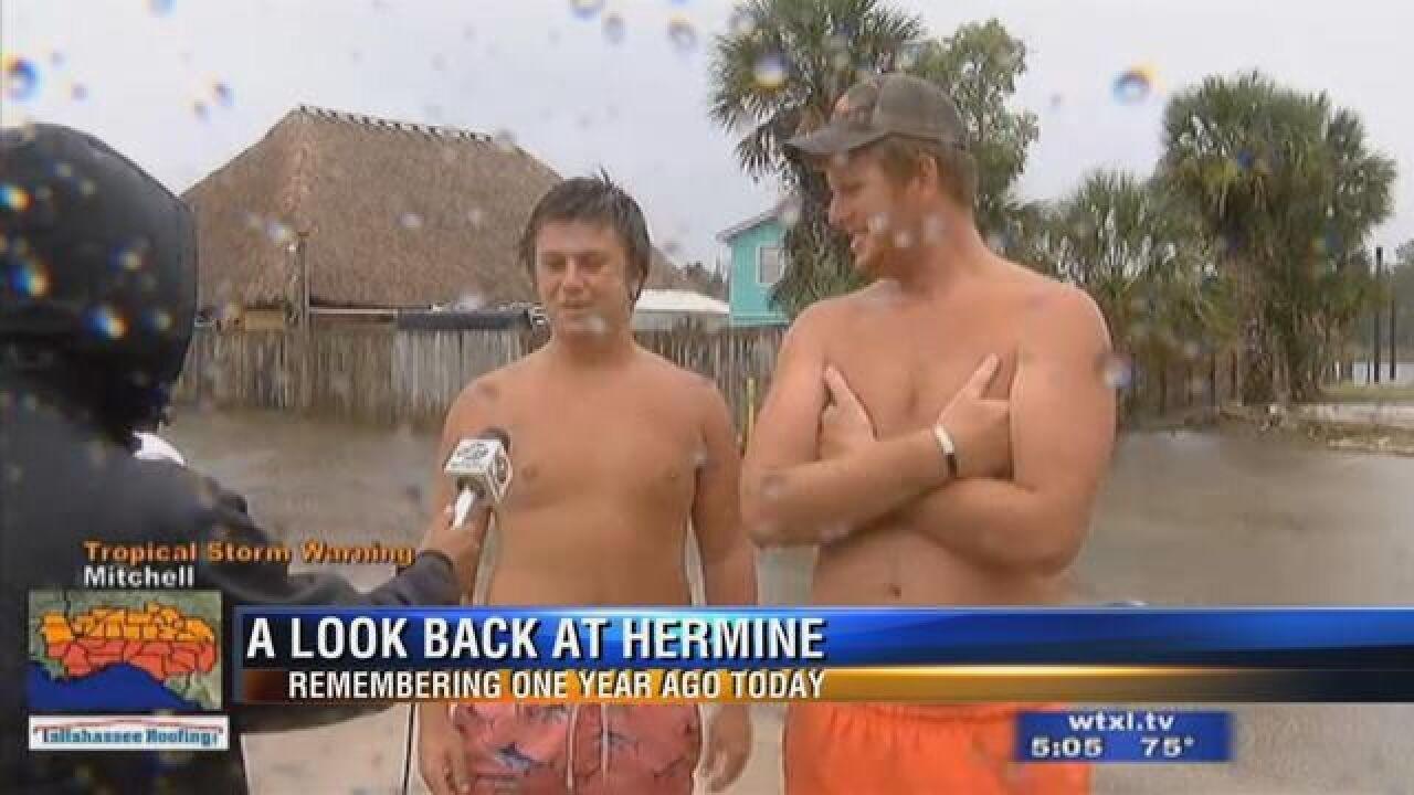 Hurricane Hermine: One Year Later
