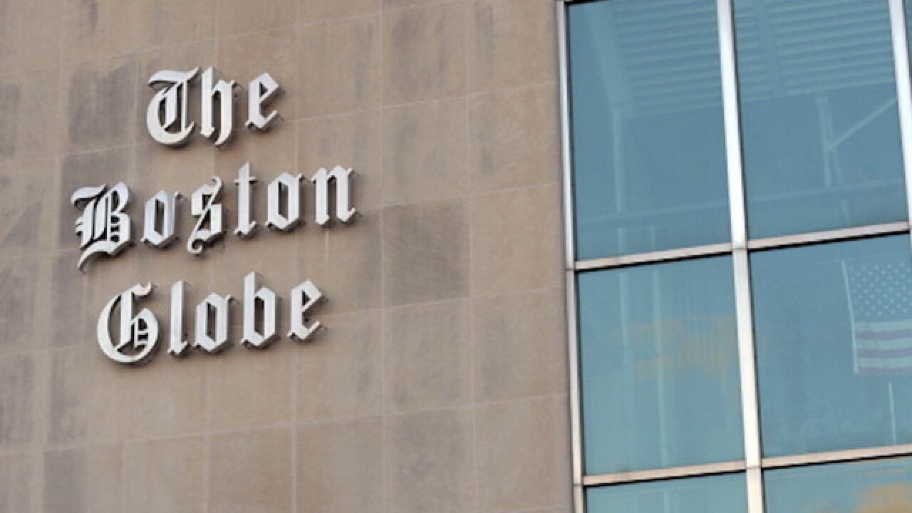 Man calls in threat to Boston Globe, calling paper the 'enemy of the people'
