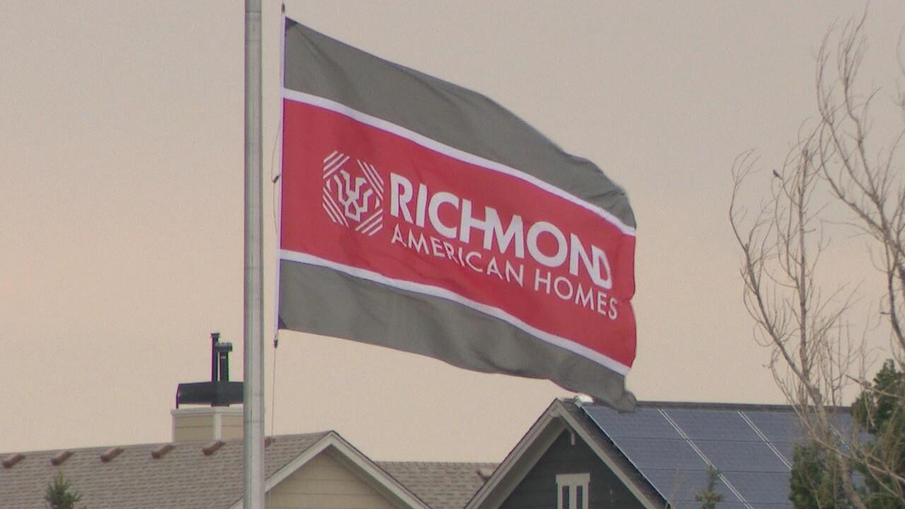 Richmond American Homes flag