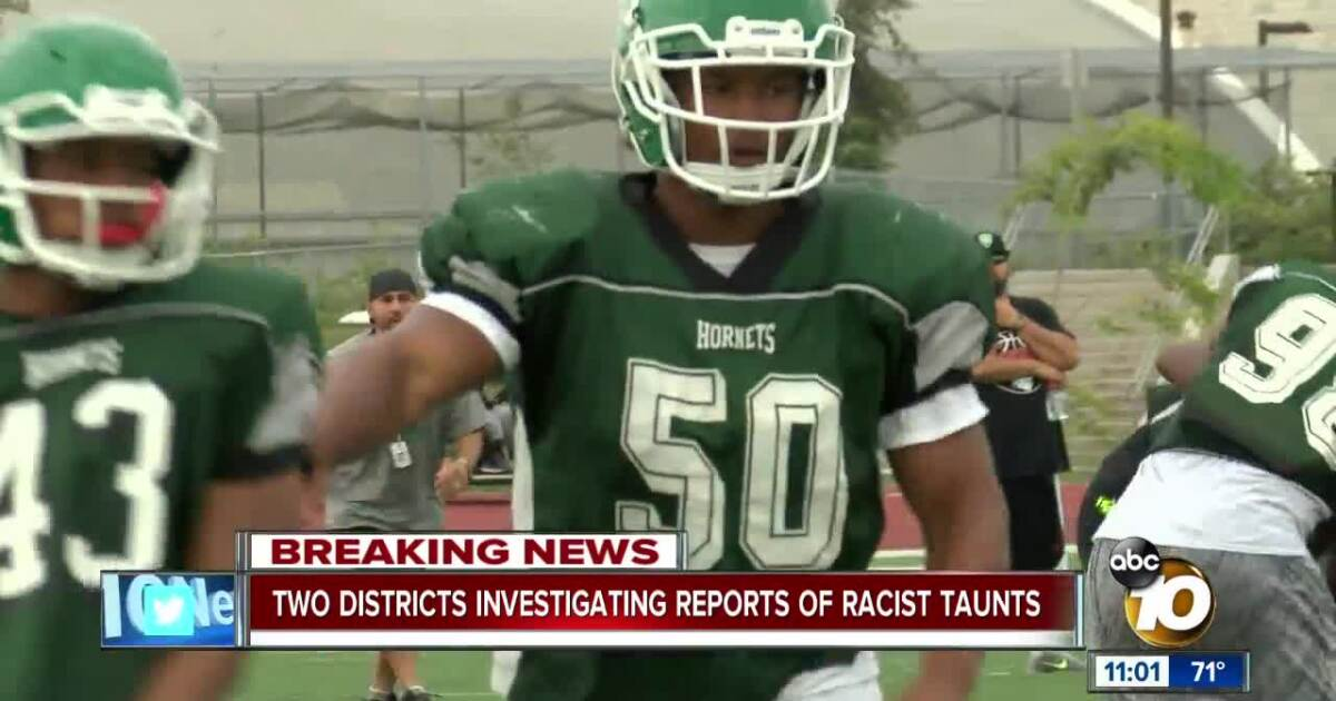 Lincoln High investigates racist taunts by opponent's fans