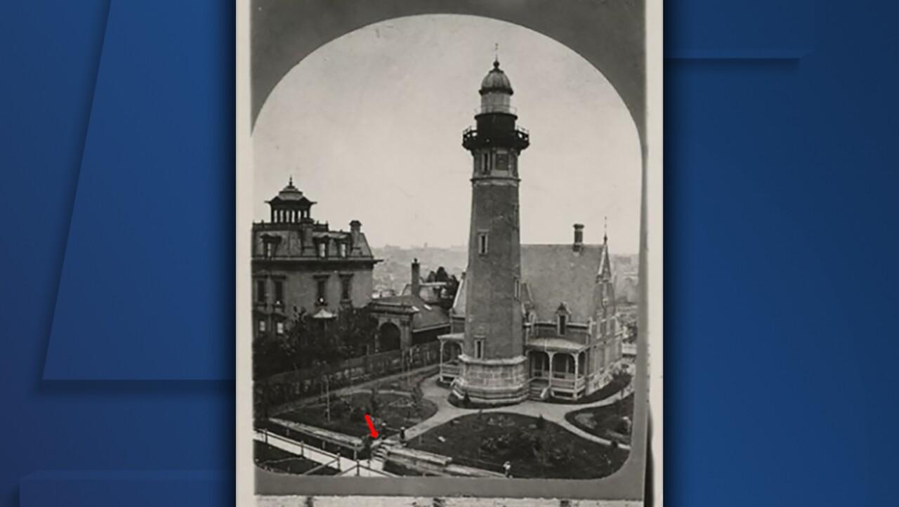 Levi Johnson Lighthouse steps arrow.jpg