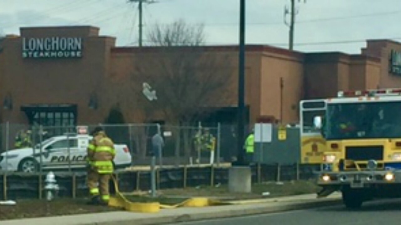 Longhorn Steakhouse evacuated due tofire