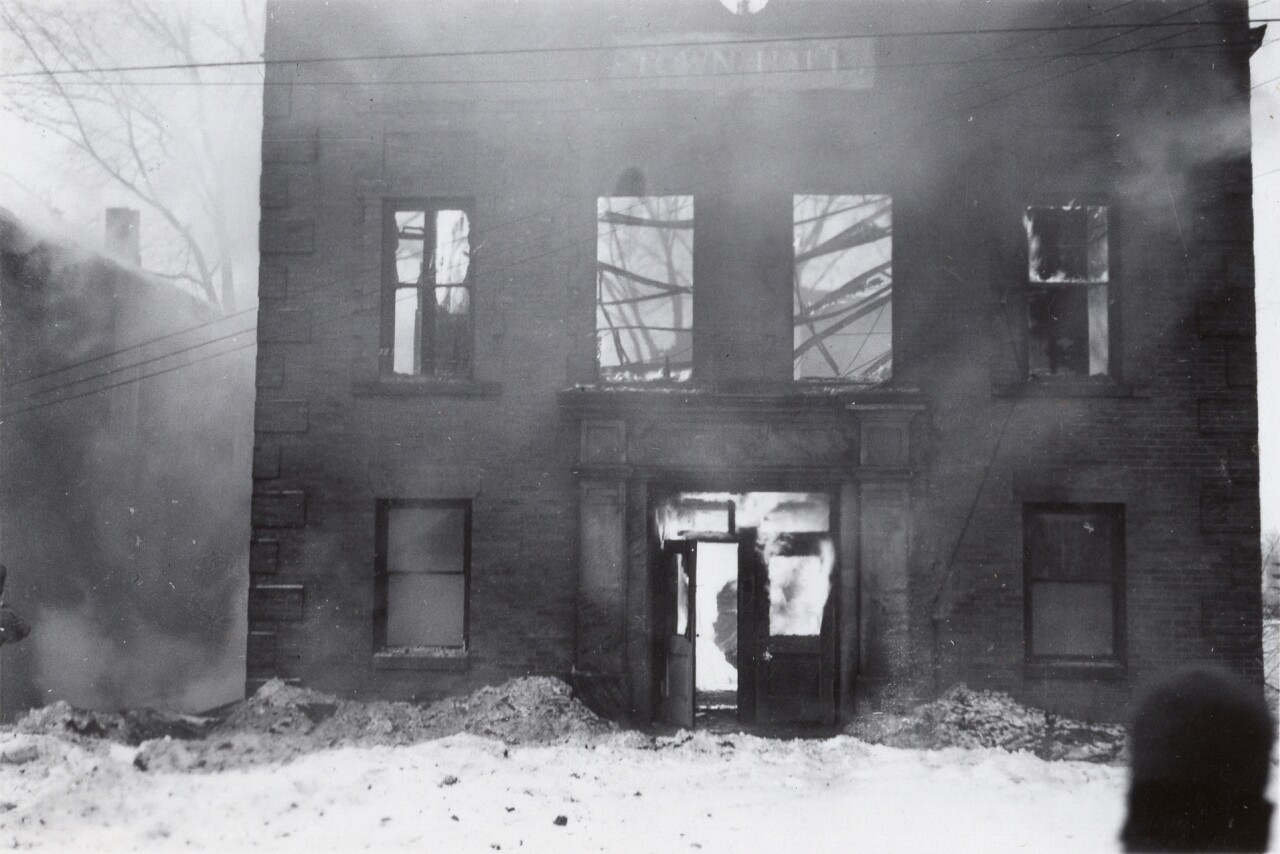 Dansville Town Hall Fire of 1947