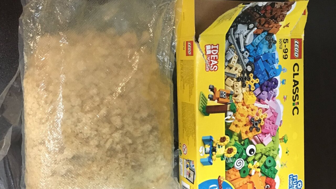 Georgia child finds $40,000 worth of meth inside LEGO box