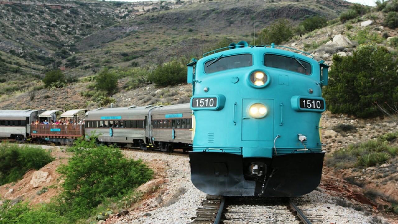 Climb aboard this secret wild west party train!