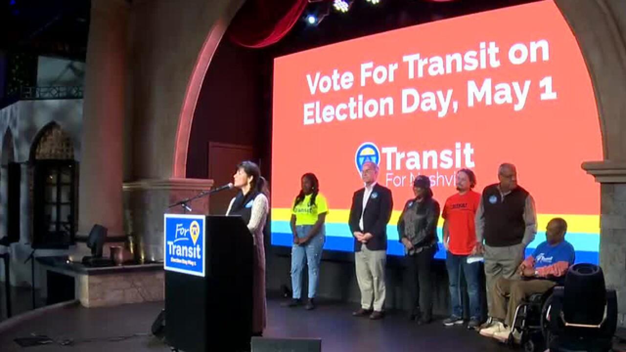 Transit Now Nashville Launches Its Campaign