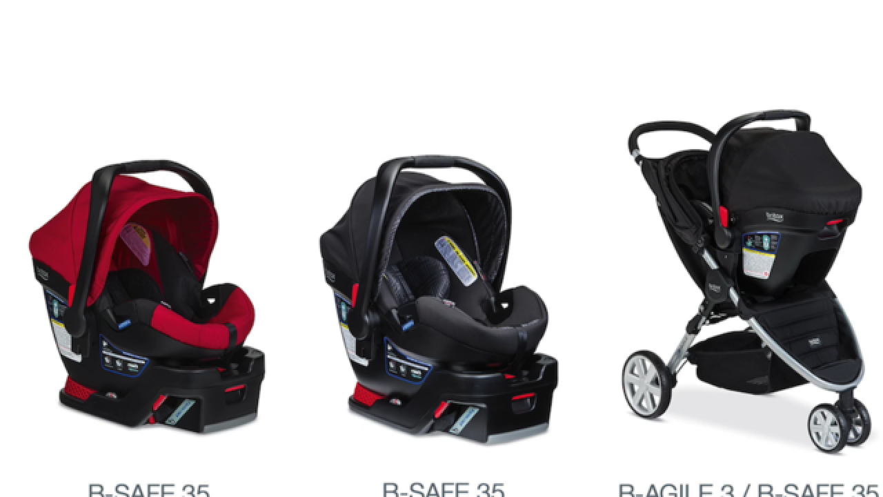 70 000 Car Seats Recalled For Faulty Handle