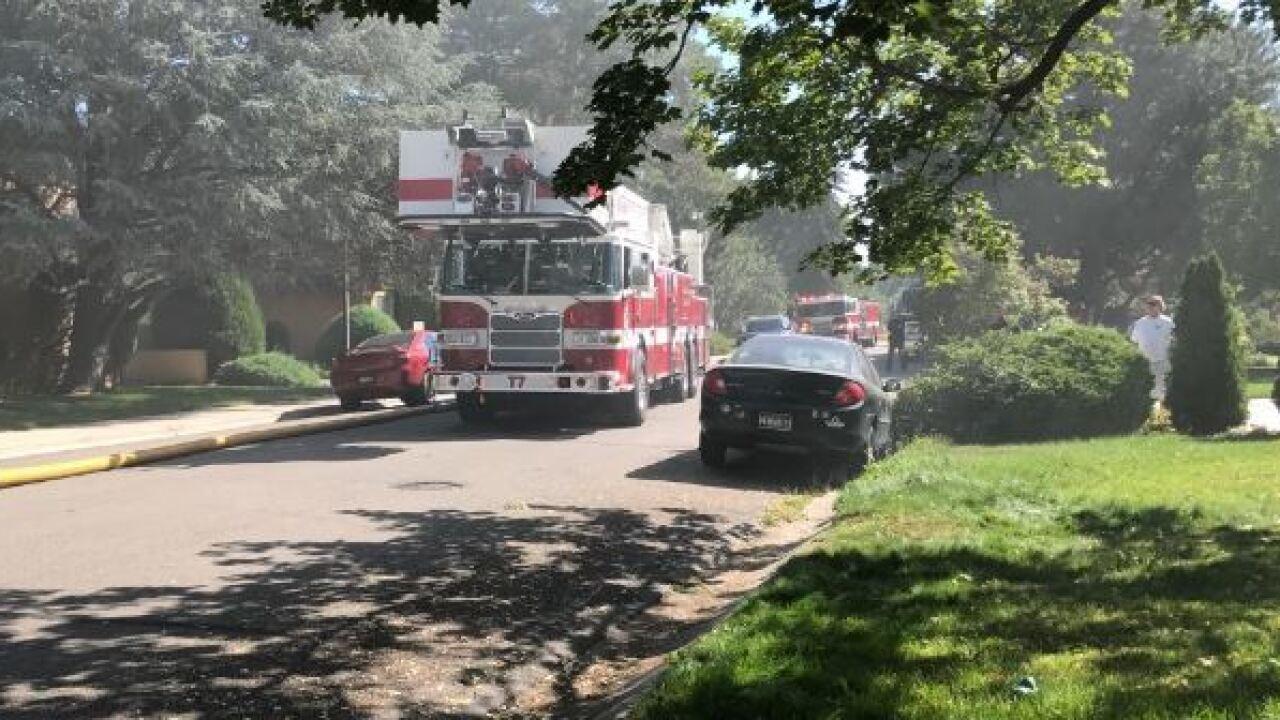 Crews battling two-alarm Boise apartment fire