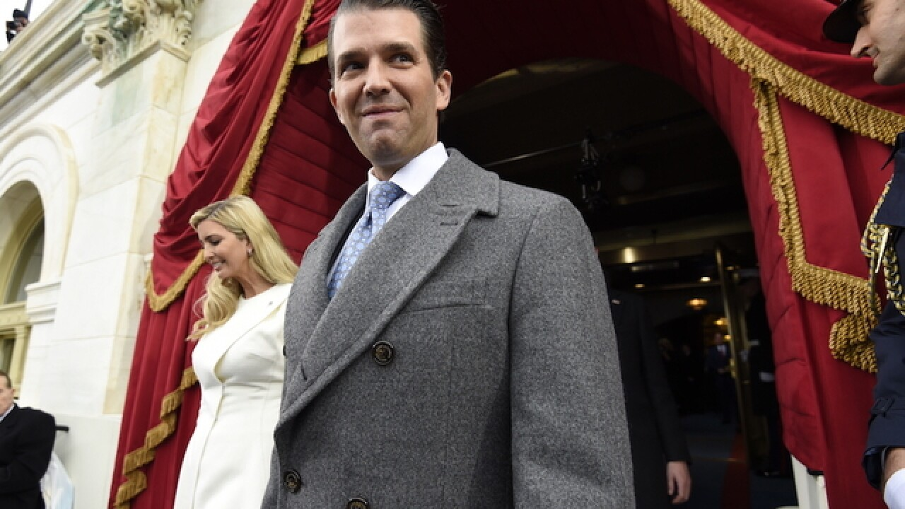 Donald Trump Jr. to talk to House Intelligence Committee behind closed doors