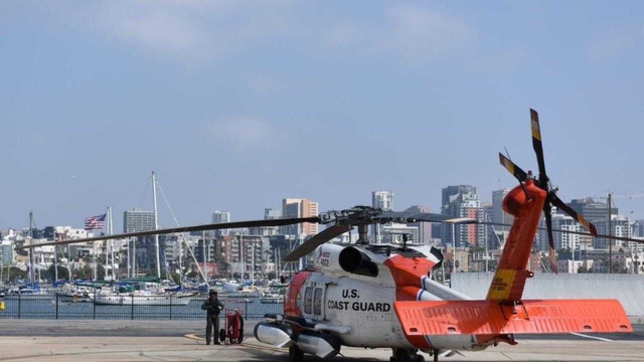 San Diego Coast Guard heads to Hurricane Harvey