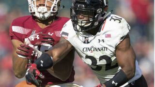 James Wiggins' overtime pick-six lifts UC over SMU