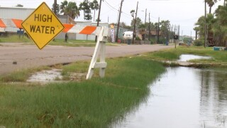 Minor flooding in Port Aransas, officials advise beachgoers be cautious
