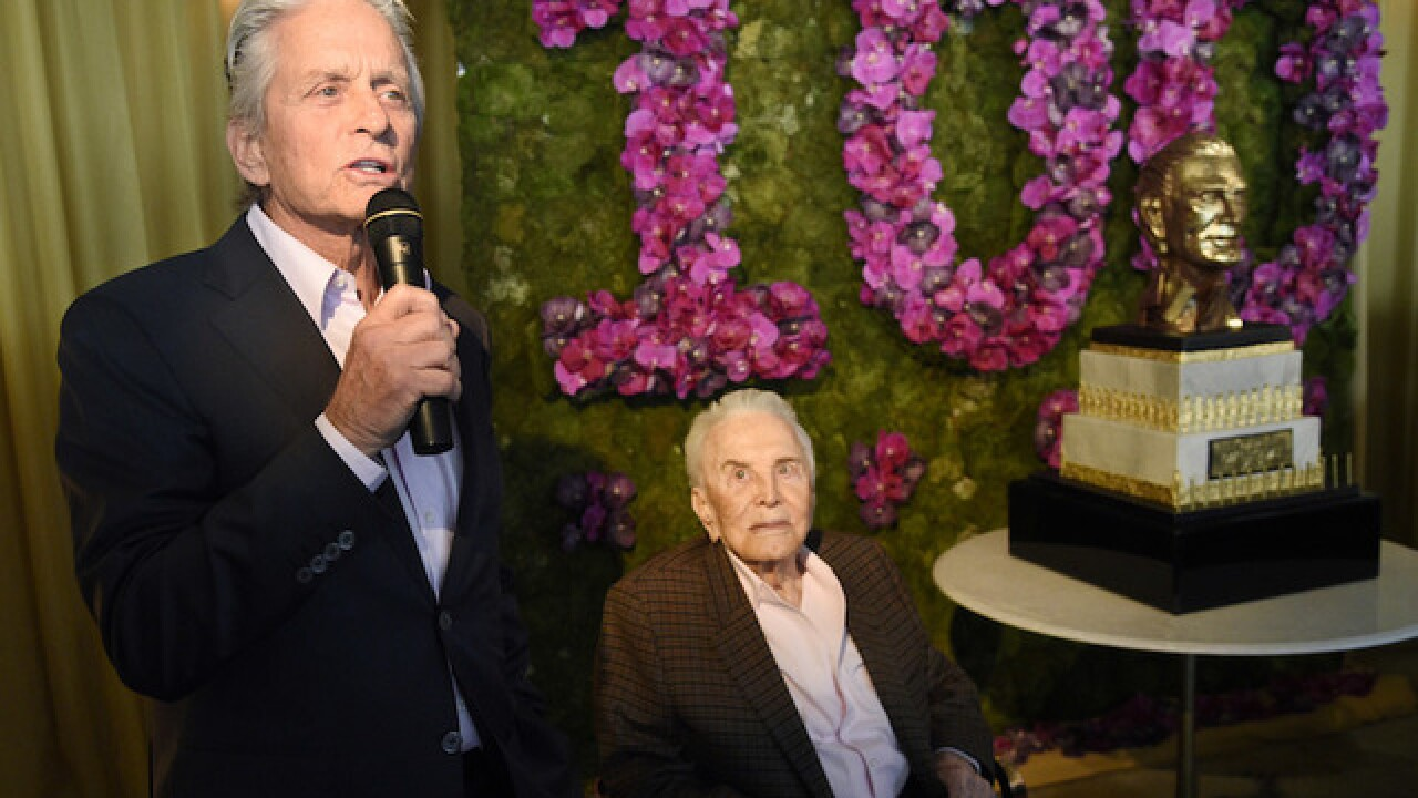 Kirk Douglas celebrates 100th birthday with star-studded Hollywood party