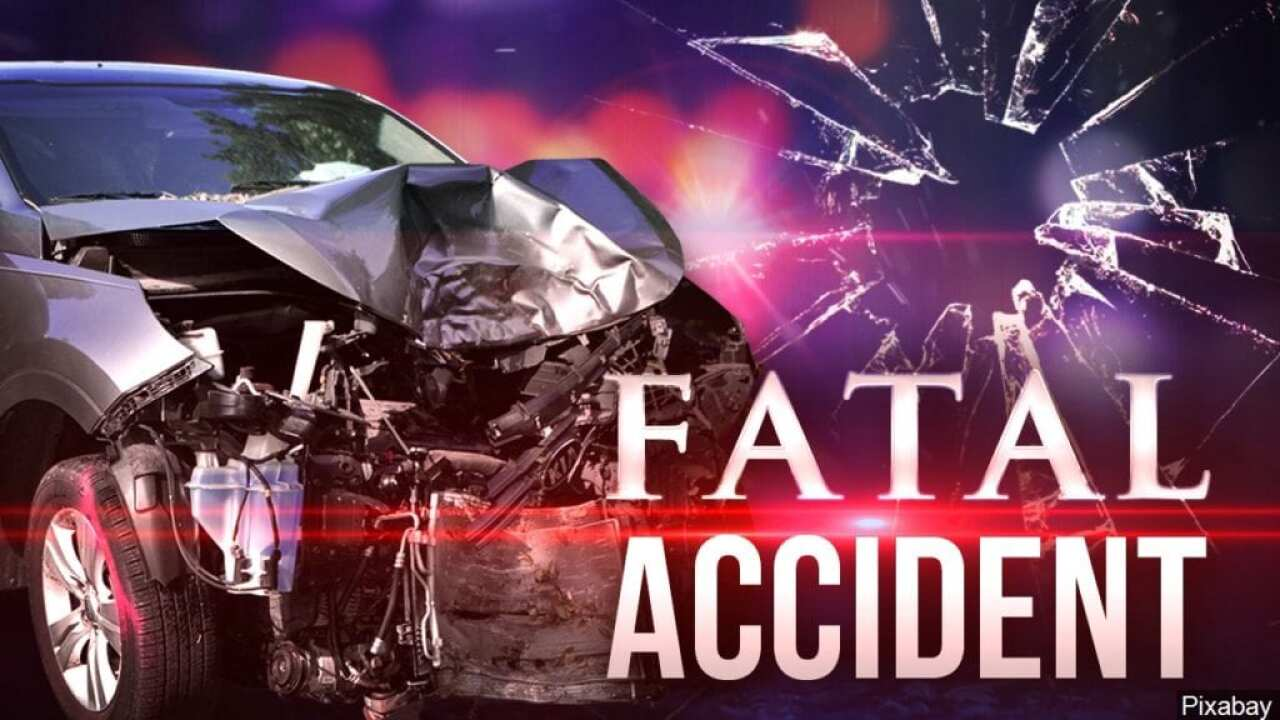 A 33-year-old Odem woman died of injuries after one-car crash