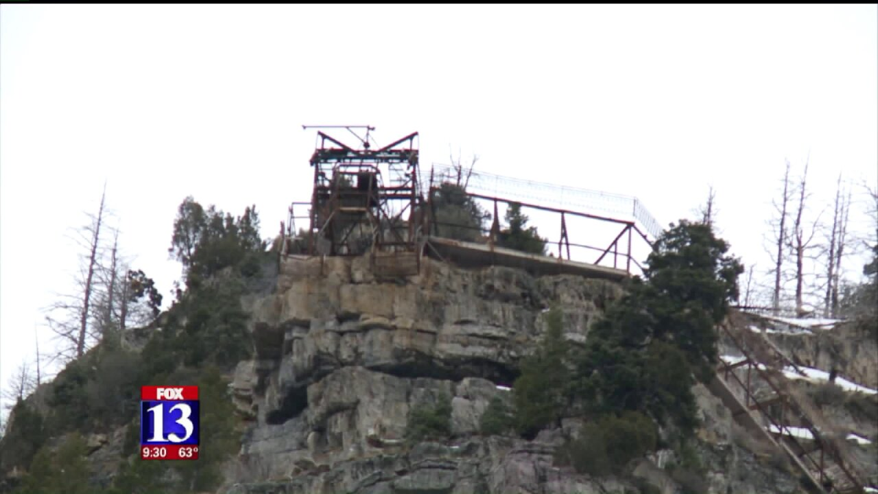 Dilapidated buildings to be demolished near Bridal VeilFalls
