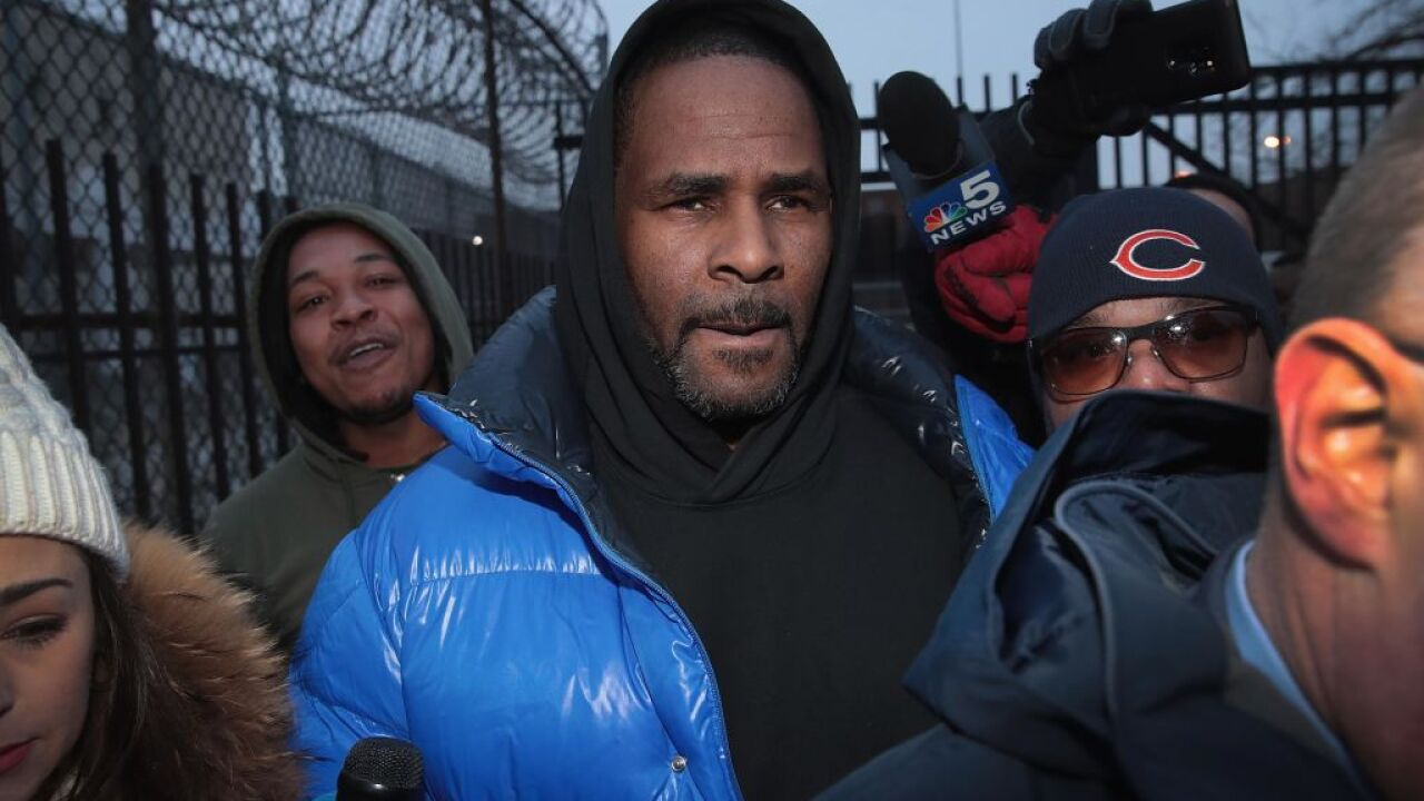 R. Kelly has posted bail and is expected to leave jail soon, sheriff's office says