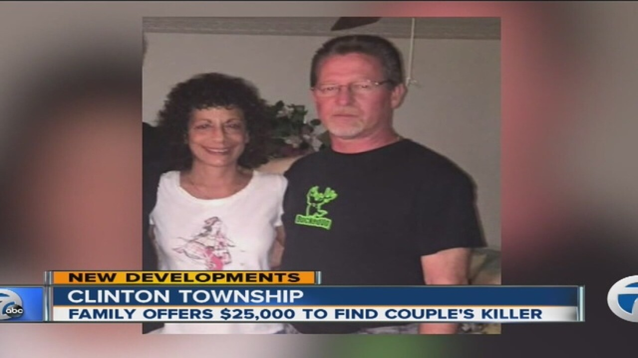 $25K reward in case of husband, wife murdered