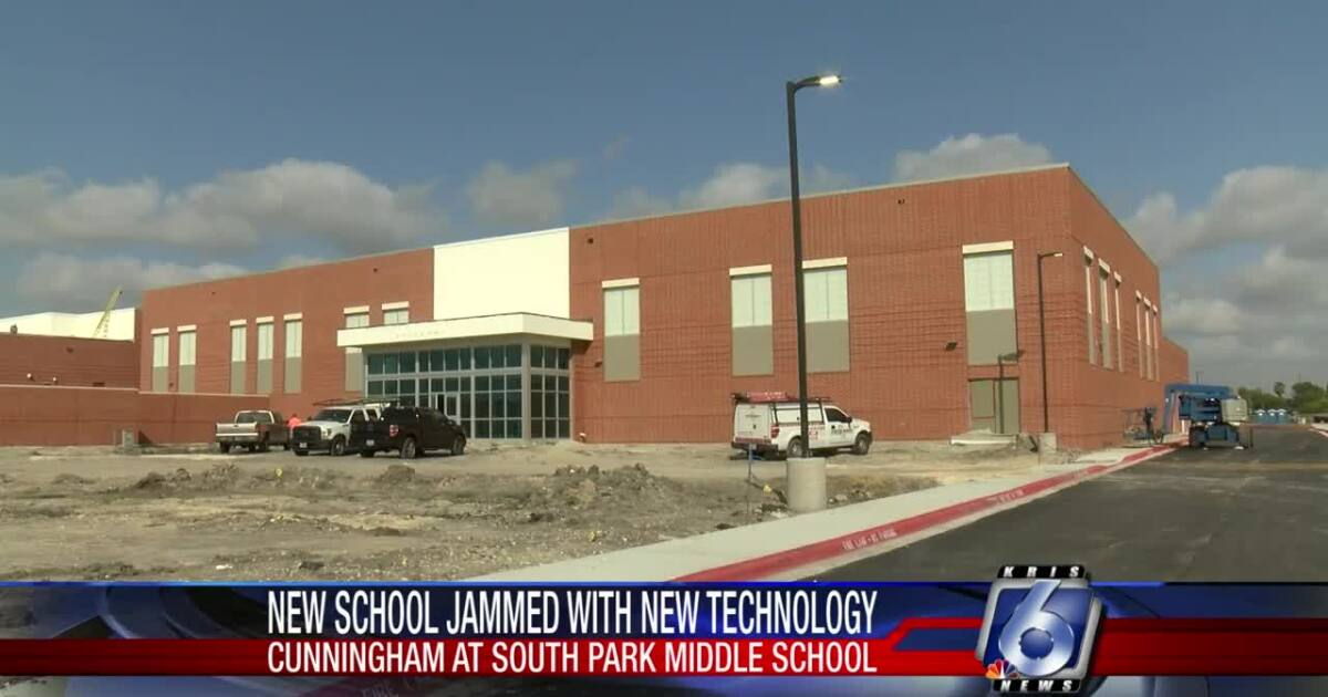 A look inside the new Cunningham Middle School at South Park