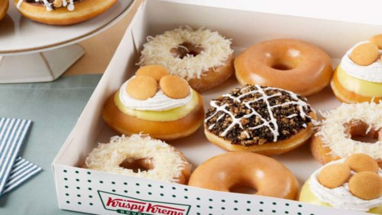 Krispy Kreme Is Releasing A Dessert Doughnut Line With Flavors Like Banana Pudding And Mississippi Mud Pie
