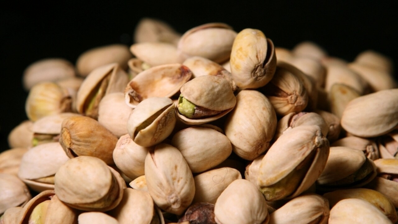 Recall issued for pistachios due to possible salmonella