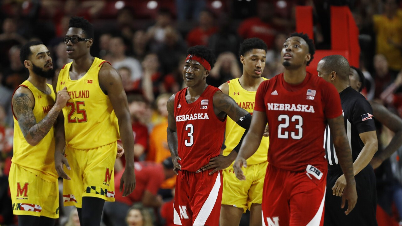 Nebraska Maryland Basketball