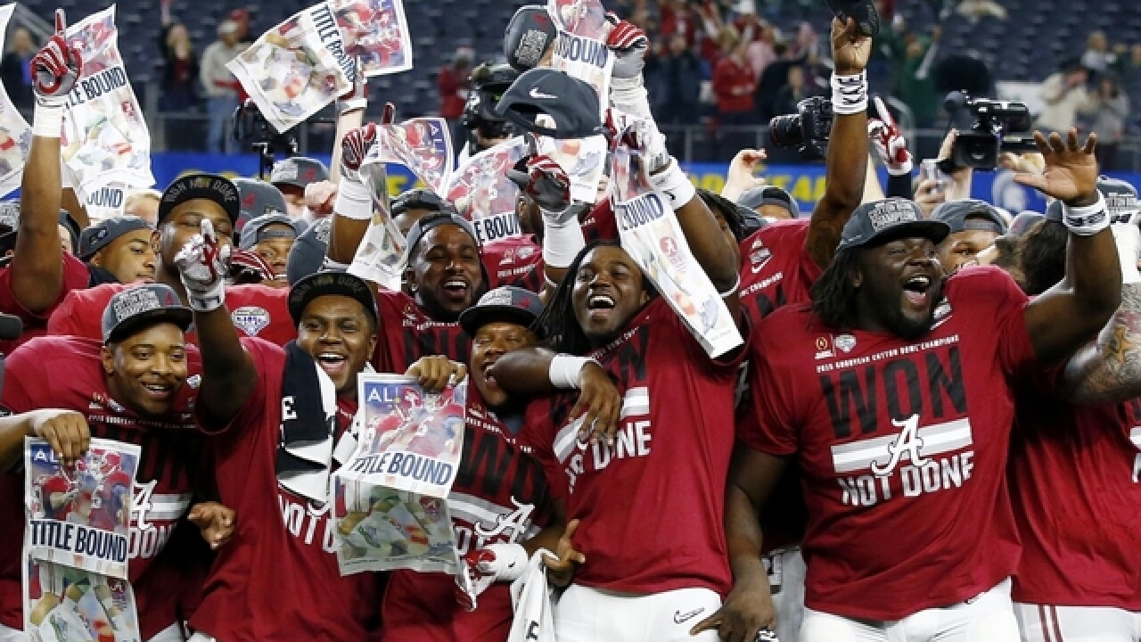 Roll Tide! Alabama is preseason No. 1