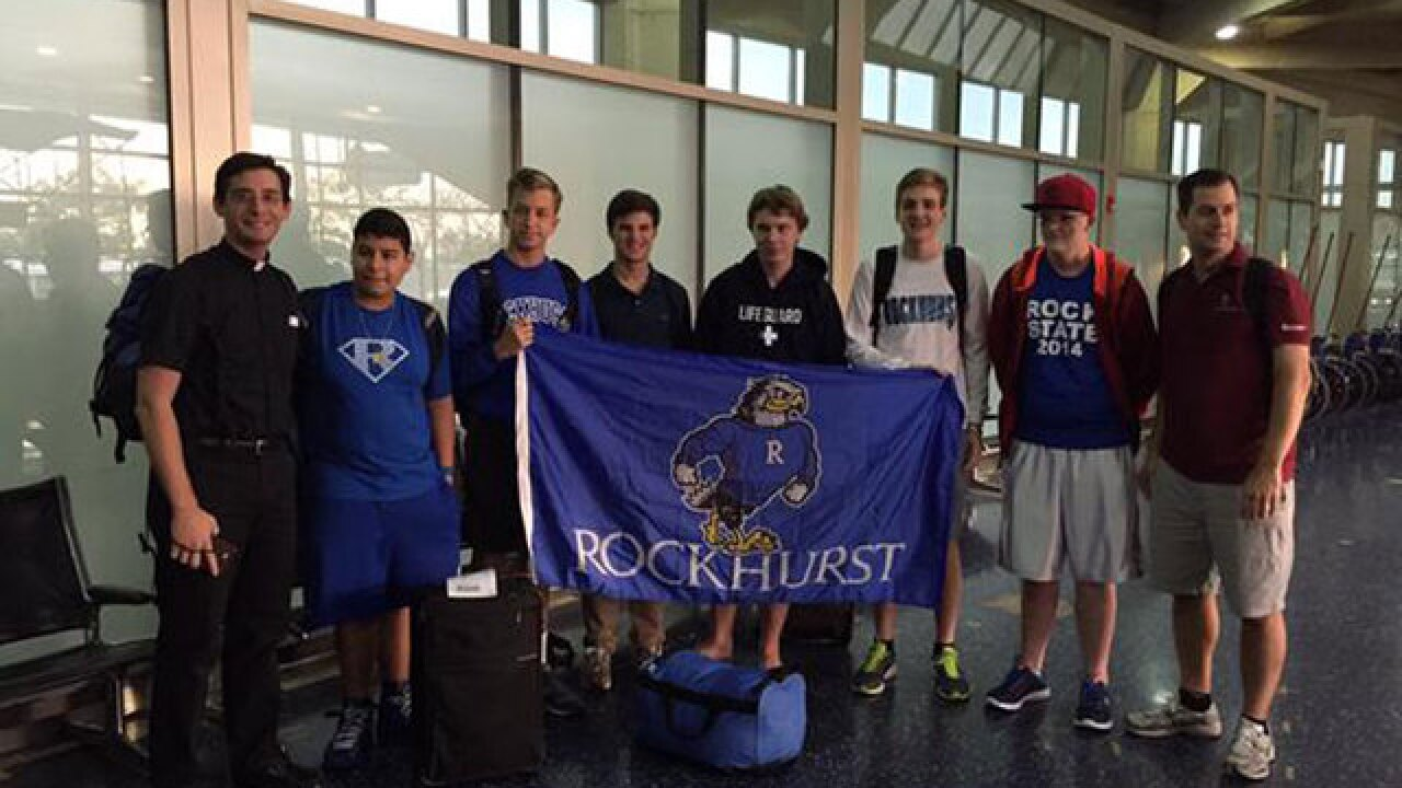 Rockhurst HS students head to see Pope Francis