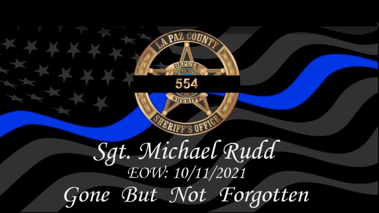 Sgt. Michael Rudd tribute
