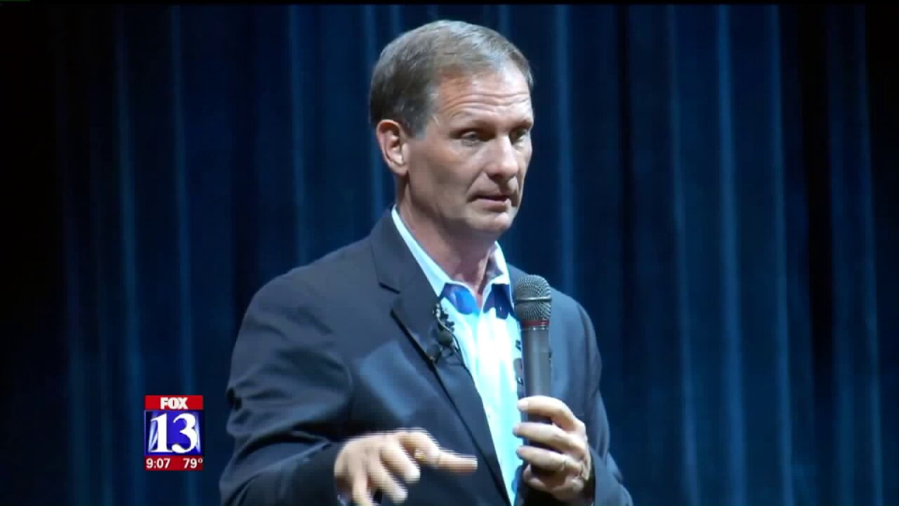 Rep. Stewart talks health care, the firing of James Comey at town hall inRichfield