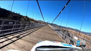 Drive across the Royal Gorge Bridge