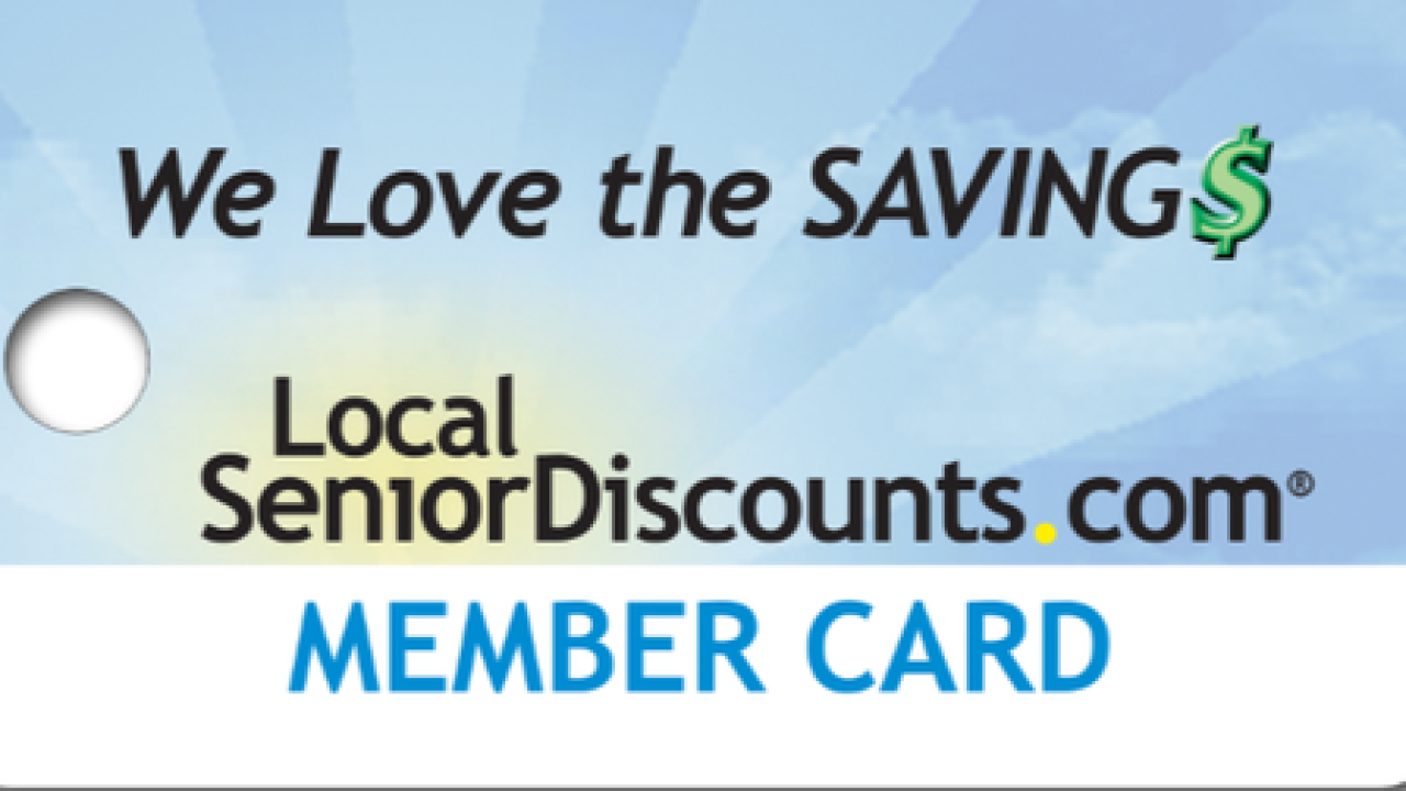 c26fe4039d9 Local Senior Discount Cards Offer Deep Discounts and Benefit Elder Care  Services