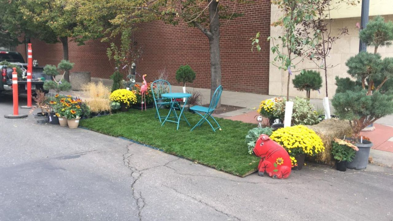 PARK(ing) Day in downtown Great Falls