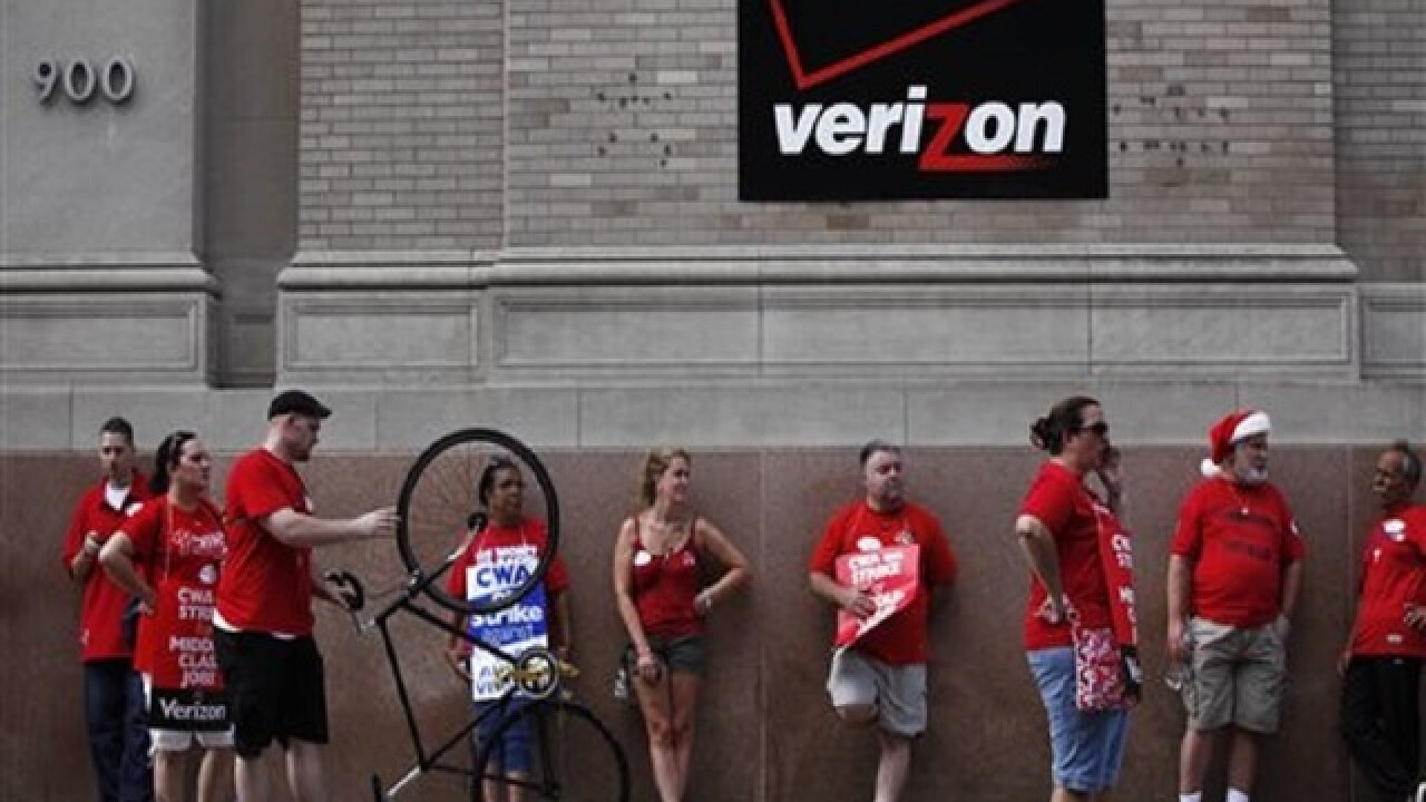 Verizon reaches deal in principle with union