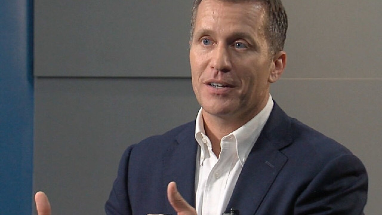 FBI agents asking lawmakers about tactics by Missouri Gov. Greitens associates