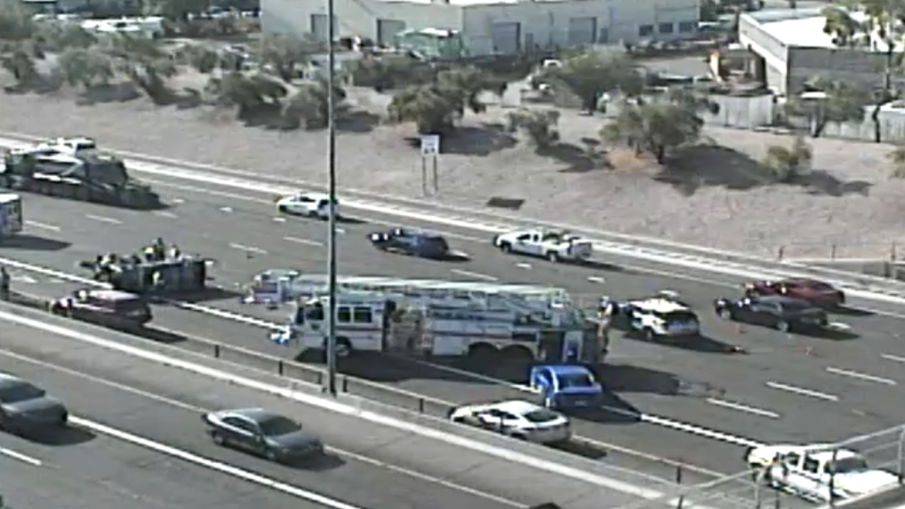 DPS: Driver ejected from vehicle in crash on US-60 at