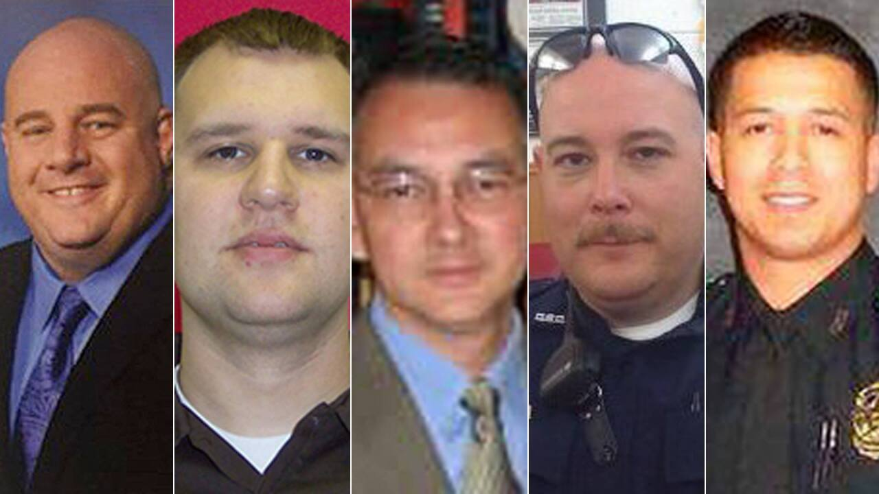 Dallas police shooting: Who were the victims?