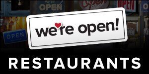 We're Open Kentucky!  Restaurant Listings