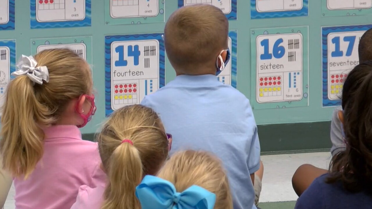 Students attend Glendale Elementary School in Indian River County on Aug. 10, 2021.jpg