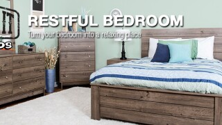 restful bedroom