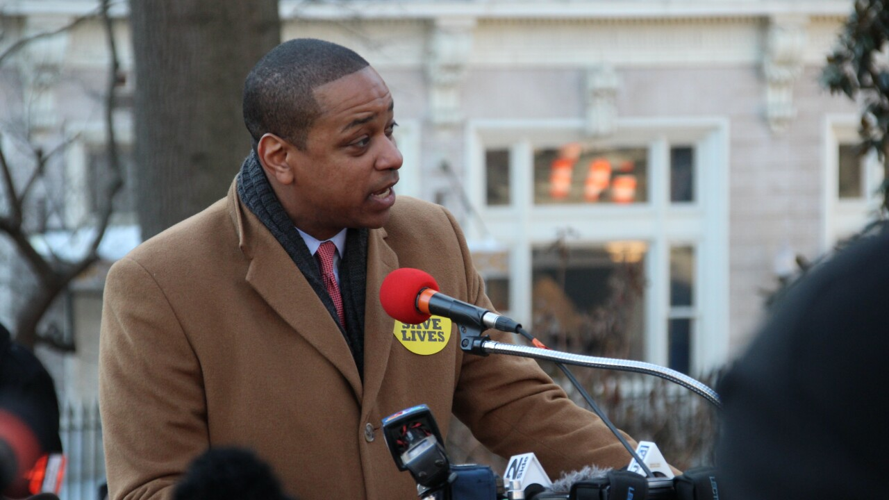 Virginia Lt. Gov. Fairfax announces plan to run for governor in 2021
