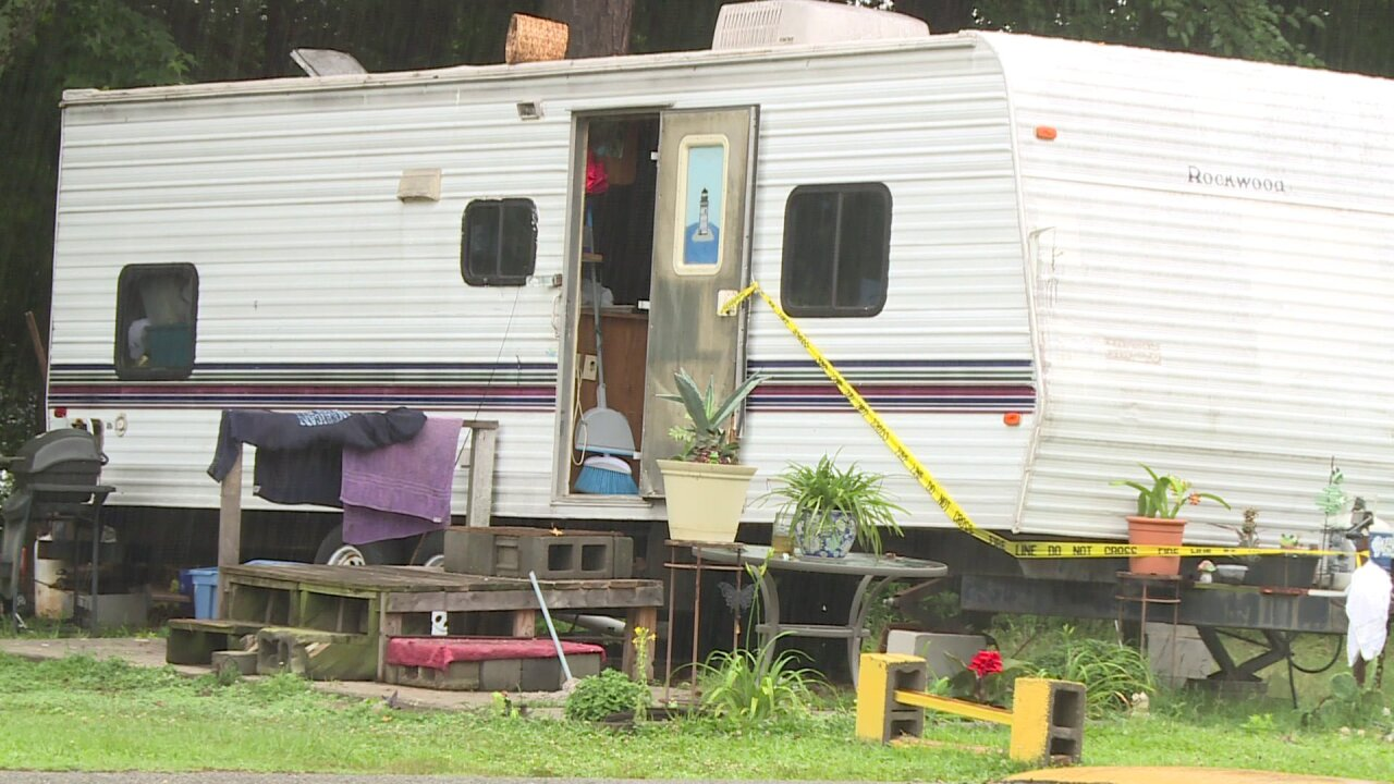 2 arrested after 'hazardous chemicals and drugs' found at Petersburg mobile homepark