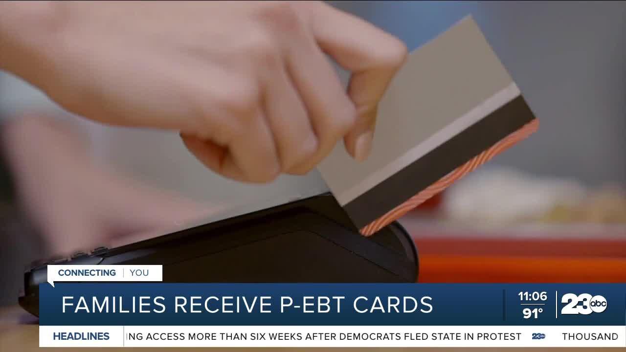 P-EBT Cards, Bakersfield, August 30, 2021