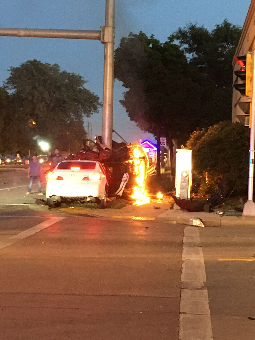 27th and Cleveland crash