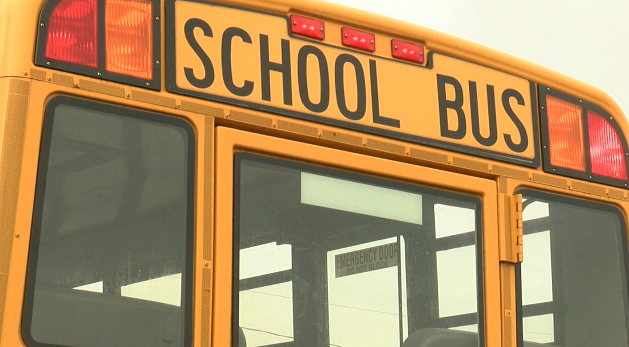 First student school bus