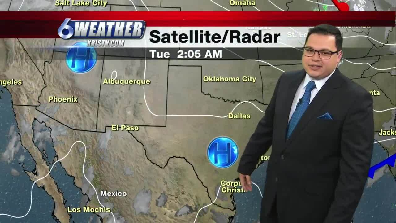 Juan Acuña's weather for Feb. 23, 2021